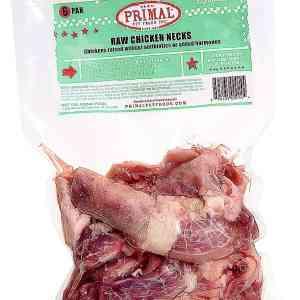 Primal 6 Pak Raw Chicken Necks
