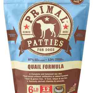Primal 6lb Canine Quail Formula Patties
