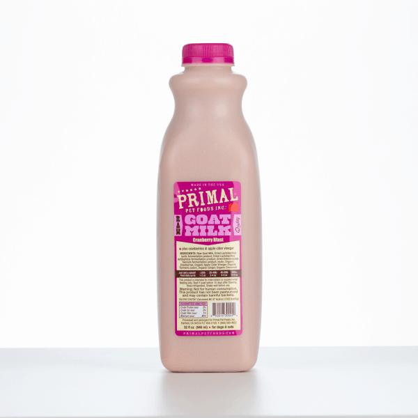 Primal Goats Milk Cranberry 32 Ounce 1
