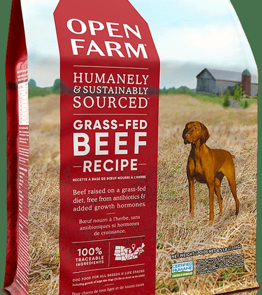 OPEN FARM DOG DRY GRAIN FREE BEEF 4.5# 1