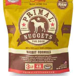 3lb Canine Rabbit Formula Nuggets