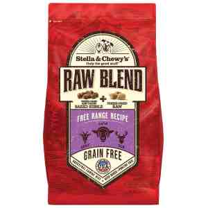 S&C RAW BLEND FREE RANGE Freeze Dried 3.5#