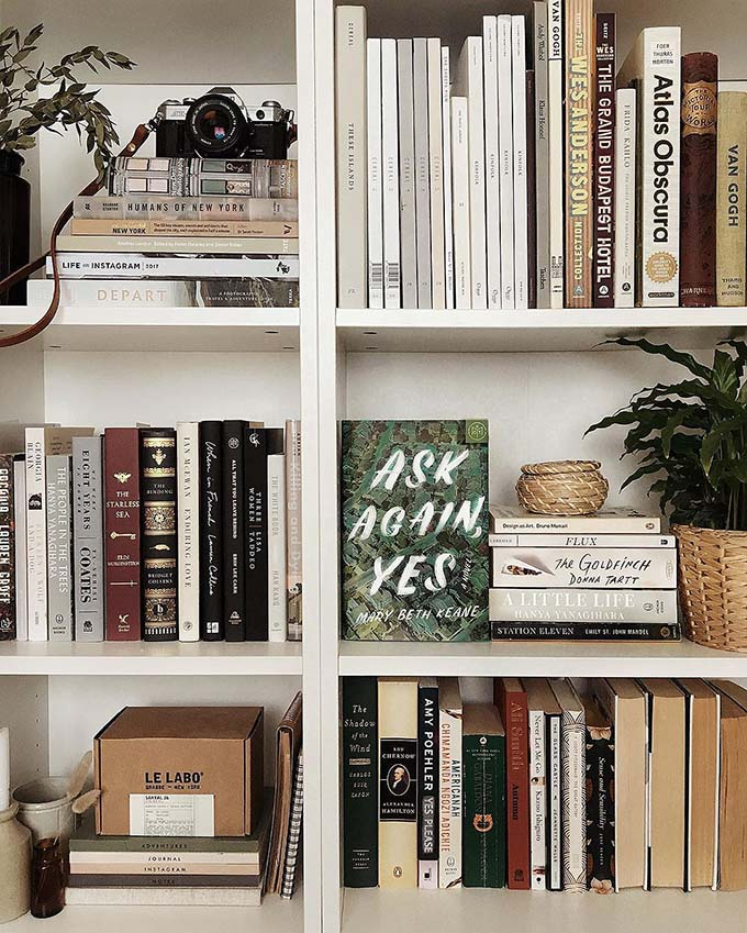 17 Stylish Ways To Display Bookshelves With A Lot Of Books Posh Pennies,Checked Baggage United Cost