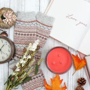 Fall, Pumpkin, Fall Leaves, Fall Floral, Cozy Socks, Mobile Phone