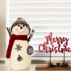 Holidays, Christmas, Farmhouse, Christmas Decor, Snowman