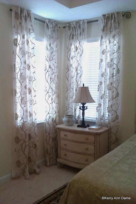 Corner Window Drapery Designs