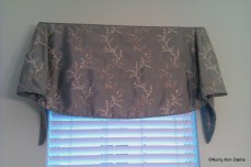 Soft Tailored Bell Valance