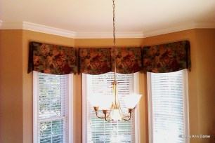 Bay Window Kitchen Valance