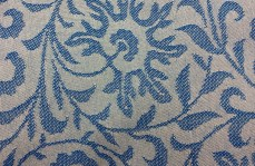 Diane Indigo French Country Fabric