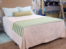 Condo and Hotel white bedspreads washable