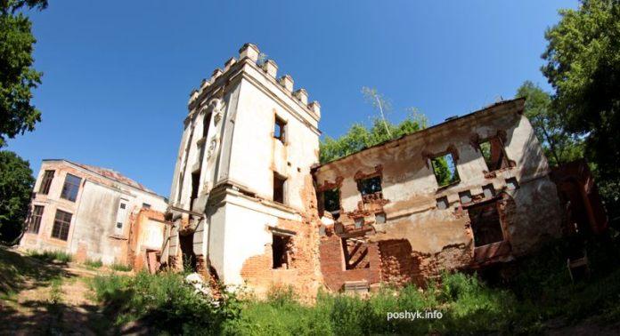 руины дворца смиловичи