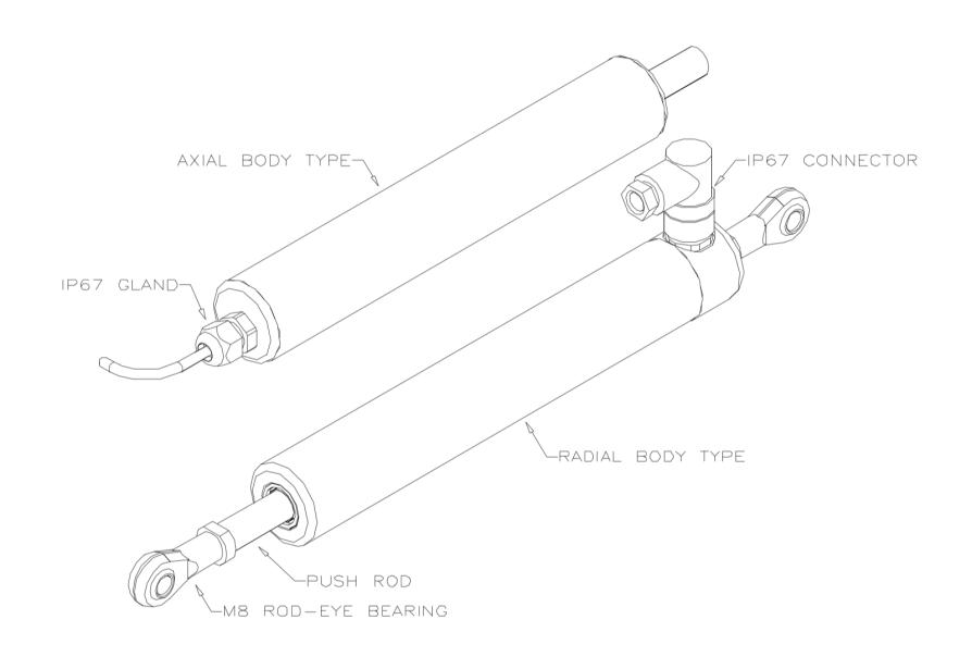 P111 capteur linéaire durci