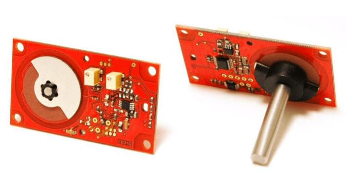 P503 capteur rotatif plat pcb RVDT