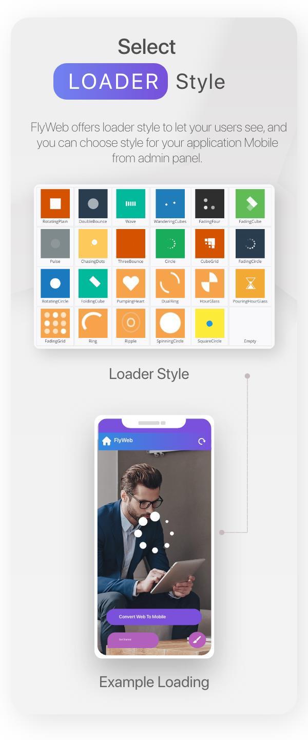 FlyWeb for Web to App Convertor Flutter + Admin Panel - 26
