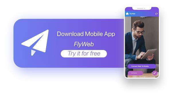 FlyWeb for Web to App Convertor Flutter + Admin Panel - 35