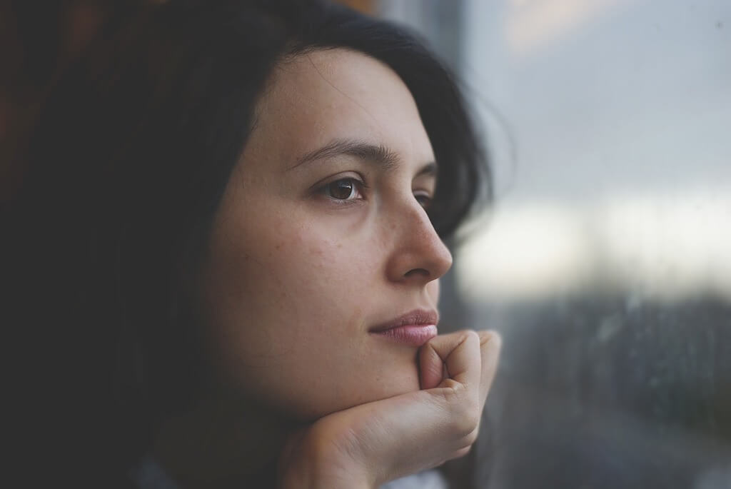 persona introvertida