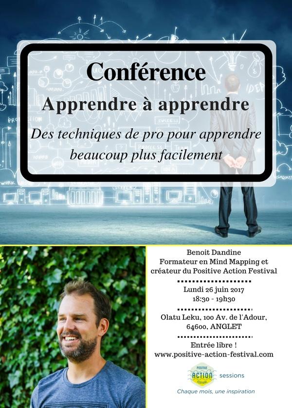 On line - conférence Benoit Dandine @ Positive Action Festival