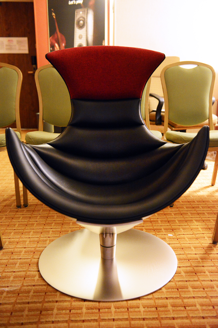 Impressions:  The GamuT Lobster Chair for Audiophiles