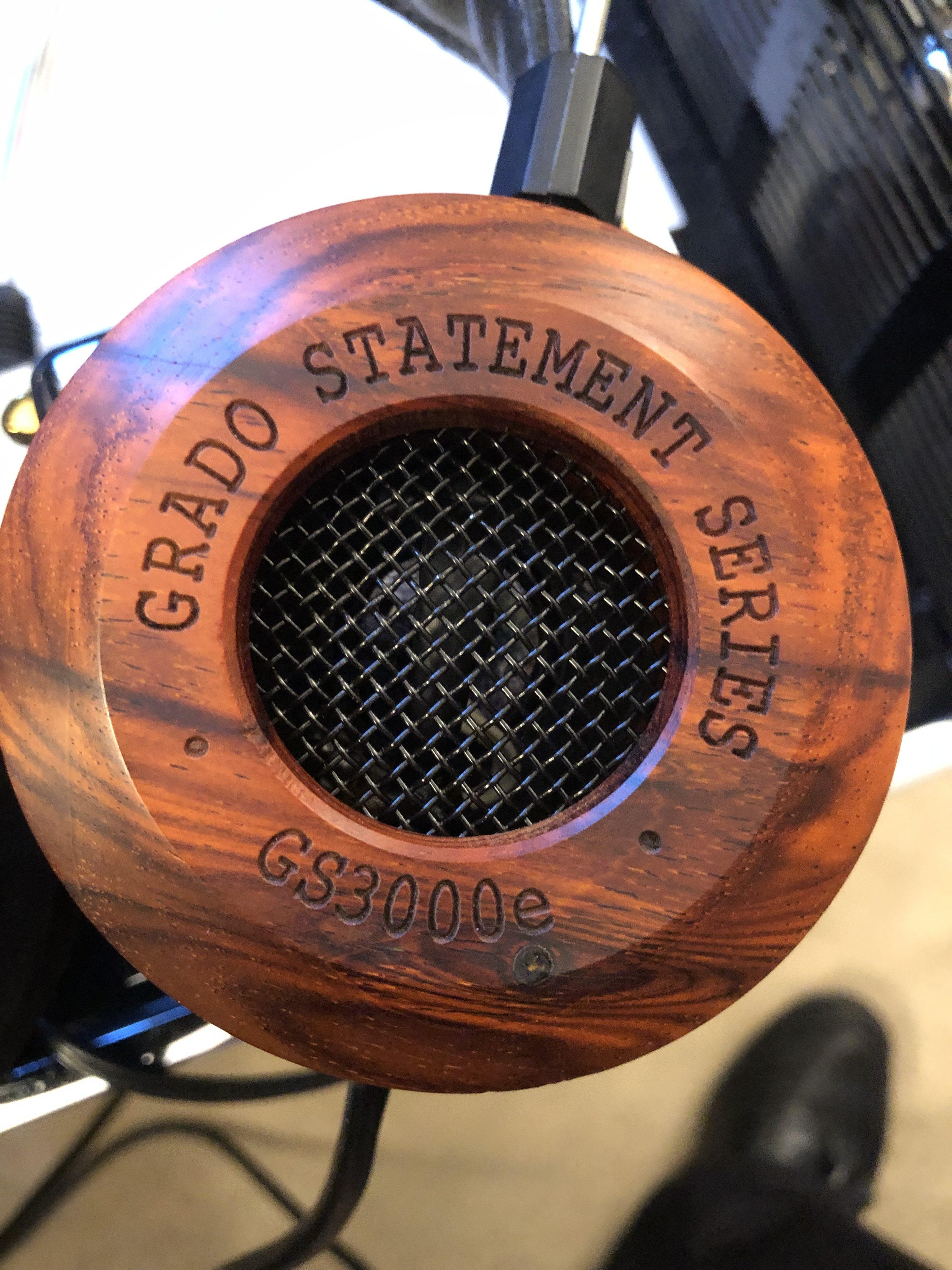 World Premiere Review of Grado Statement GS 3000e Headphones