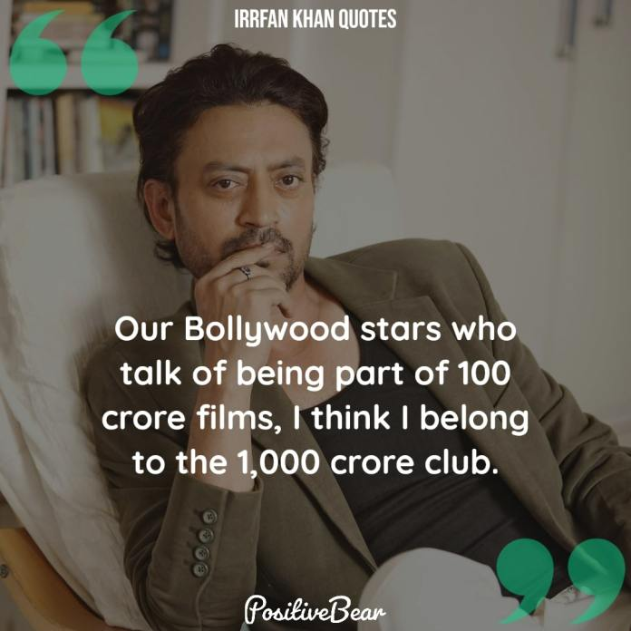 Irrfan Khan Quotes bollywood