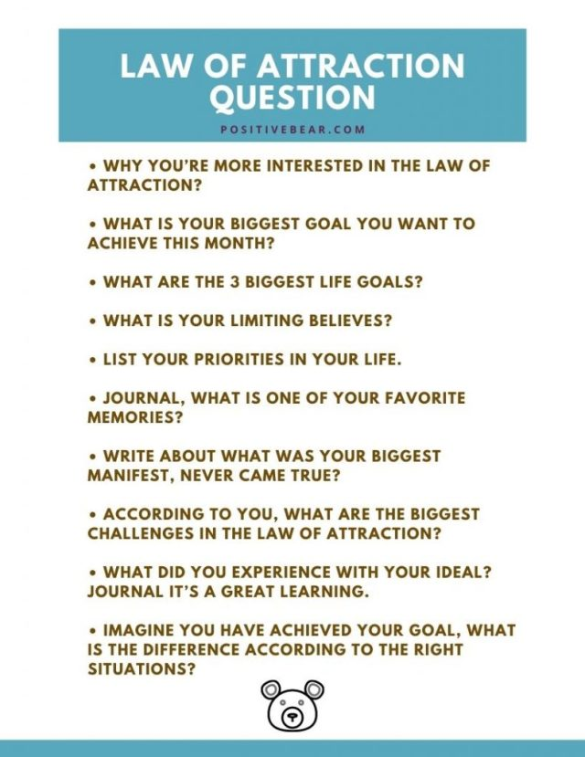 Law of Attraction Journal Prompts to Manifest Your Desires