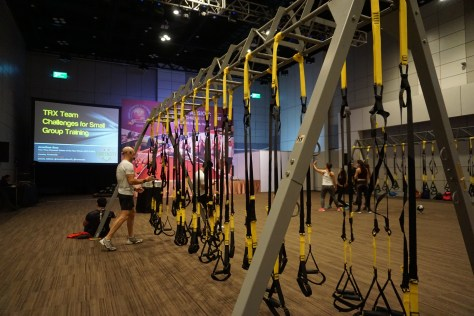 Jonathan Ross, TRX, functional training, AFC 2018, asia fitness conference, positive body, positivebody.ph, fitness, wellness, convention