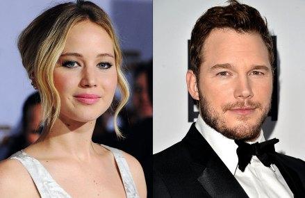 Chris Pratt and Jennifer Lawrence in upcoming Sci-Fi Comedy