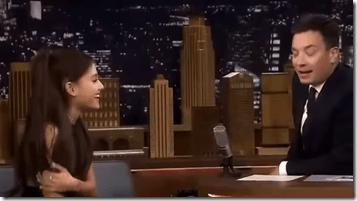 What Happens When You Mix Jimmy Fallon With Ariana Grande?