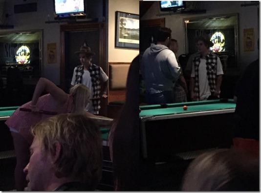 Justin Bieber At Bar 4.10.2015