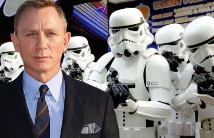Daniel Craig reportedly playing a Stormtrooper in Star Wars