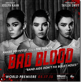 """Hailee Steinfeld Joins Taylor Swift For """"Bad Blood"""" Music Video!"""