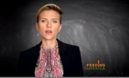 Scarlett Johansson and Jeremy Renner want to Feed America