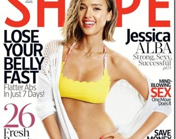 Jessica Abla Showin' Off Her Bikini Body On Shape!