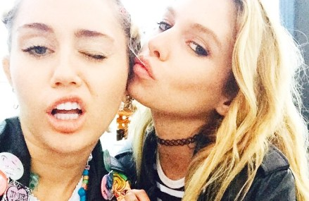 Miley Cyrus And Stella Maxwell Dating?