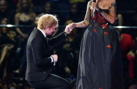 Ed Sheeran & Ruby Rose Make The EMAs EPIC!