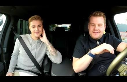 James Corden Gives Justin Bieber a Hilarious Makeover!