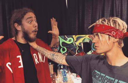 Justin Bieber chokes Post Malone back in effort to end negative gossip!