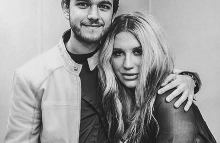 Zedd and Kesha Sebert at Coachella. See the surprise performance now!