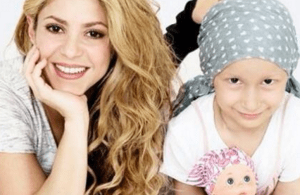Shakira designs doll to help children with cancer!