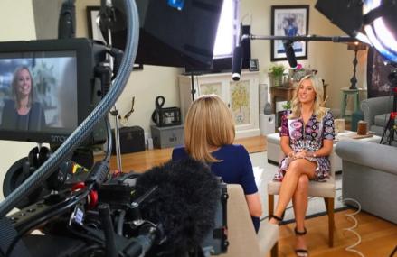 Roxy Jacenko donates interview money to Australian charities!
