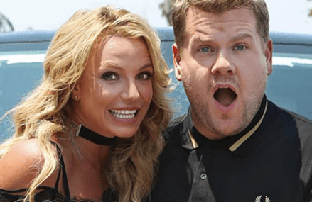 Britney Spears and James Corden tease 'Toxic,' Carpool!