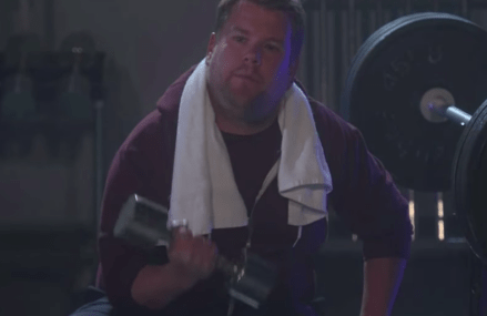 James Corden: FADE music video spoof on The Late Late Show!