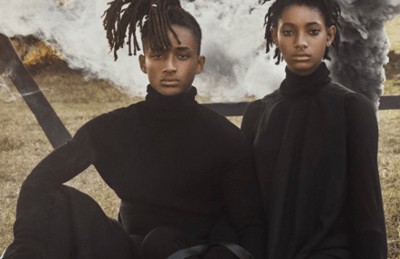 Jaden and Willow Smith talk parents & it's inspiring.