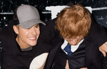 Justin Bieber has nothing but positive vibes for Ed Sheeran!