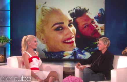 Gwen Stefani stops by The Ellen DeGeneres Show & talks Blake Shelton & Wedding!