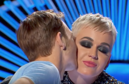 American Idol: Benjamin Glaze body language proves he liked the kiss 'That's going up on the fridge.'