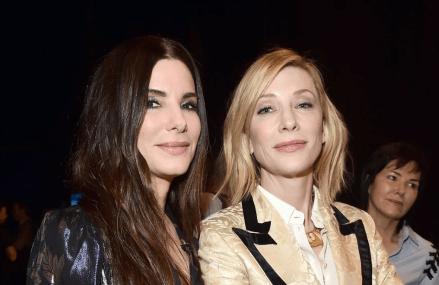 Sandra Bullock and Ellen DeGeneres discuss new skin care for aging skin & it's hilarious!