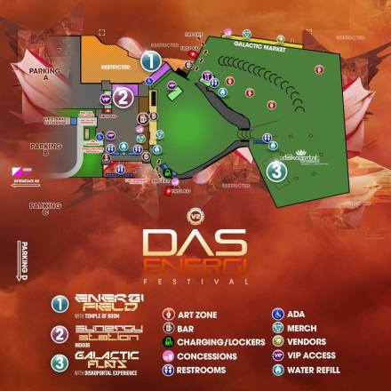 Das Energi 2018: Set Times, Festival map and more!