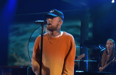 Mac Miller Performs 'Ladders' With Jon Batiste & Stay Human