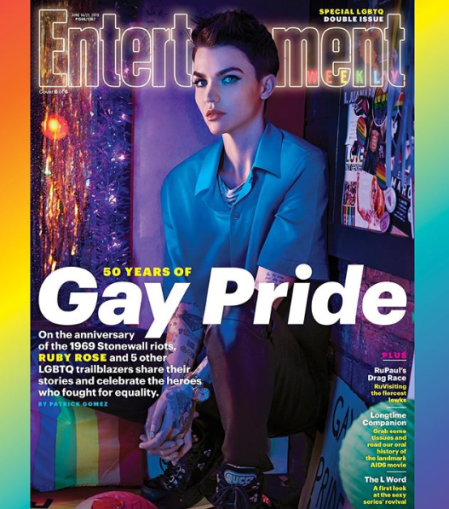 Ruby Rose: 'Dreamt Big' when she felt 'so small.' Check it out right here on positive celebrity gossip and entertainment news!